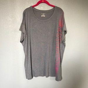 EUC Tek Gear Motivated Short Sleeve Shirt Plus 1X